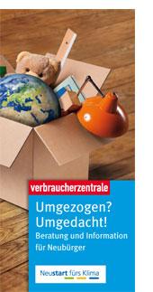 Verbraucherzentrale NRW Flyer Neustart fürs Klima